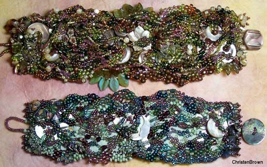 Ocean Rivers with Christen Brown  Lovely bracelets