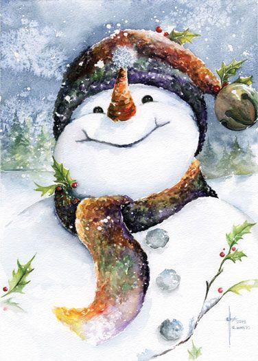 *Jingles the Snowman*: