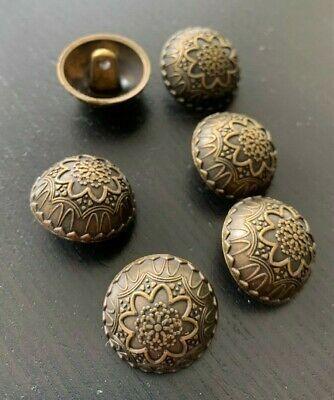 Knopf Knöpfe 15  stück  gold perle  knöpfe  18 mm groß   #1952#