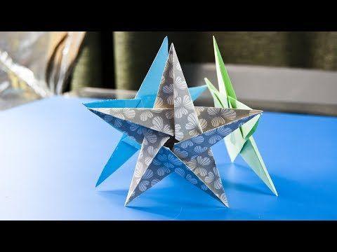 How to make Origami Star Flower - DIY Paper Star Flower Craft ...   360x480