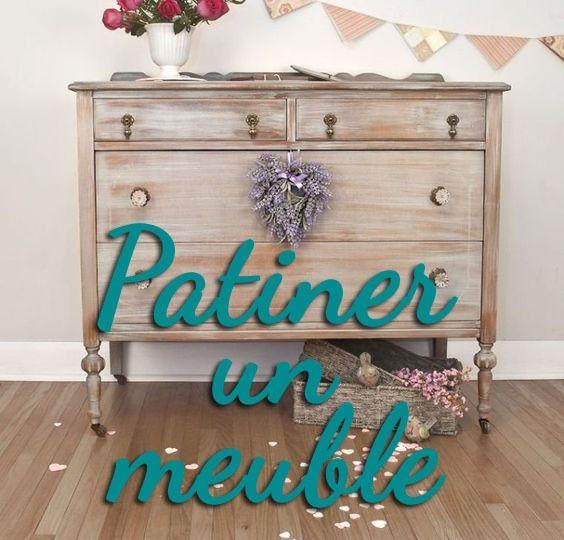 Patiner Un Meuble Astuces Techniques Et Inspirations