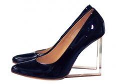 Sandales compensées MAISON MARTIN MARGIELA POUR H&M Noir