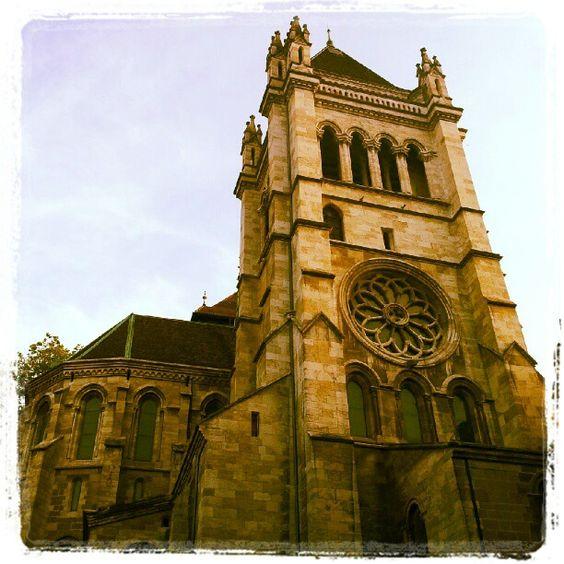 Cathédrale Saint-Pierre in Genf, Genf