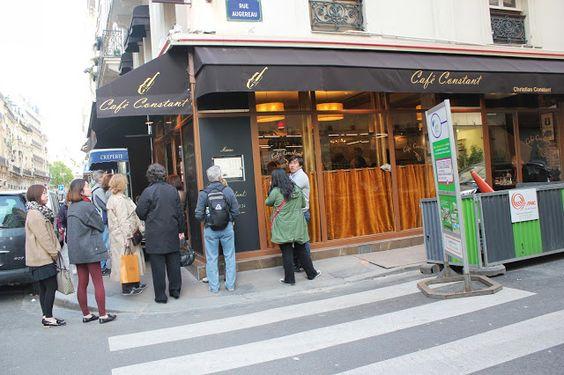 Cafe Constant Rue St Dominique Paris