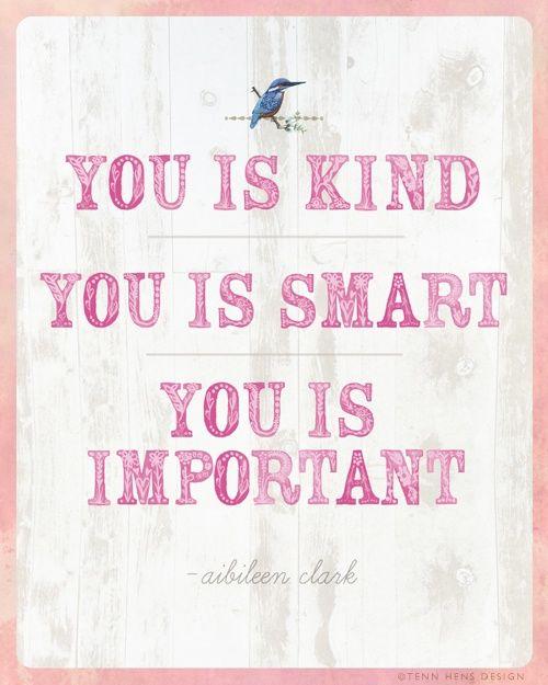 You is kind... helenduvall