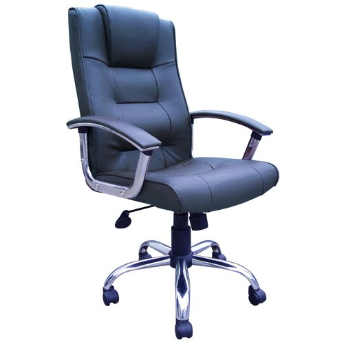 Blue Leather Executive Office Chair Blue Board Products In The Colour Blu