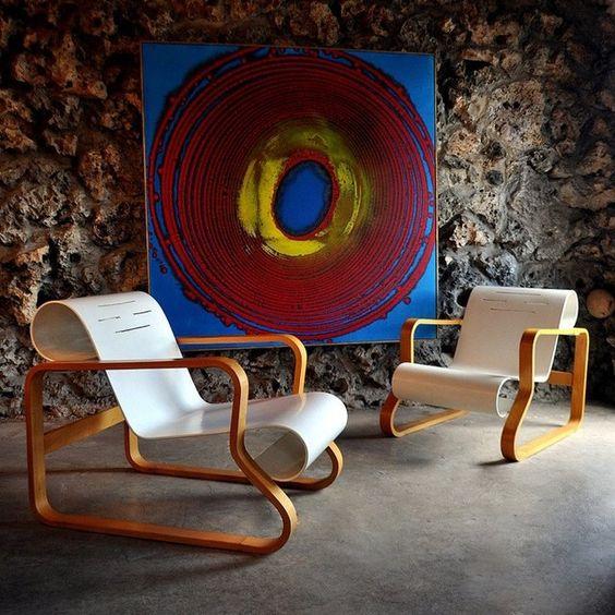 Fancy - Alvar Aalto Paimio Chair by Artek: