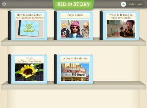 Free App for 24 hours (posted 8/9/2013) for iPad called Kid in Story - Educational App for back to school. Regularly 9.99!! Kid in Story Book Maker makes it easy and fun to create visual stories to support learning, social modeling, and early literacy with your child as the star.