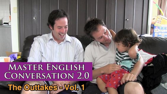 Master English Conversation 2.0 - Funny Clips, Bloopers, Mistakes and Ou...