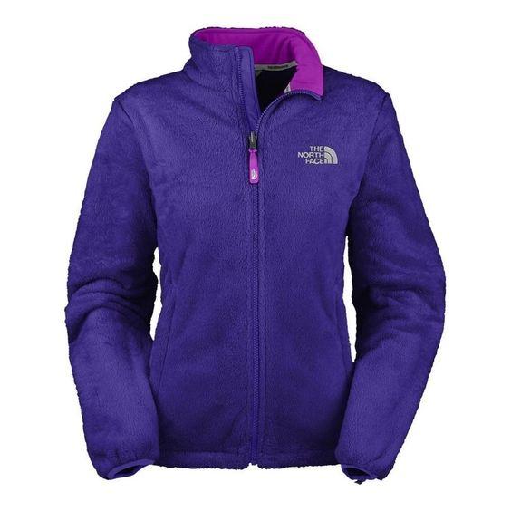 The North Face Women's Osito Fleece Jacket in Ultramarine blue ...