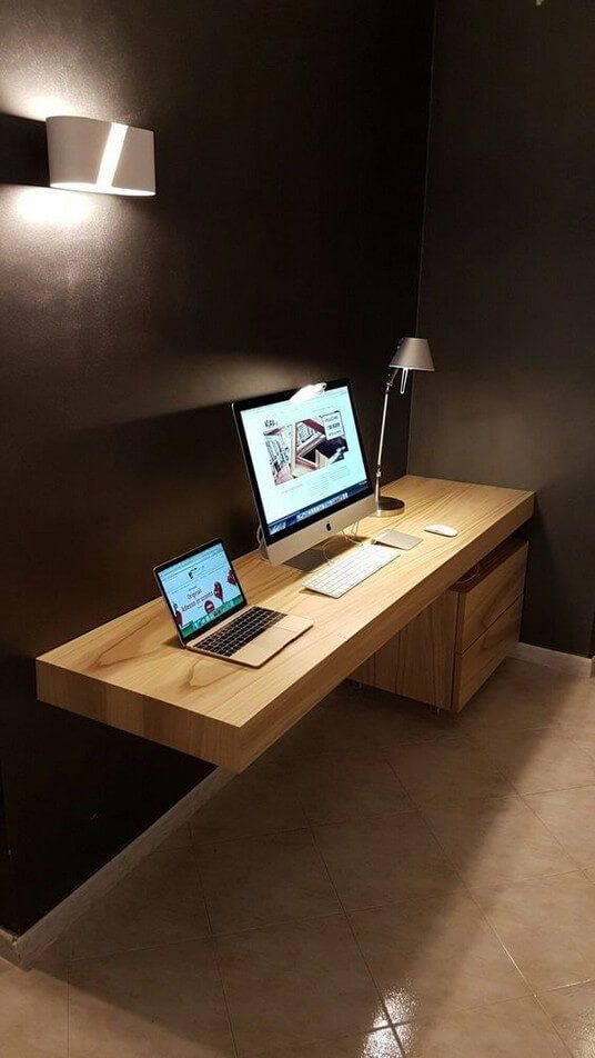 22 Diy Computer Desk Ideas That Make More Spirit Work Enthusiasthome Office Desk Designs Office Furniture Design Home Office Chairs