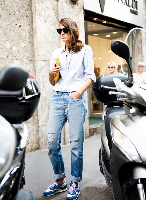 Your+Denim+Street+Style+Handbook:+52+Looks+To+Get+You+Inspired+via+@WhoWhatWear