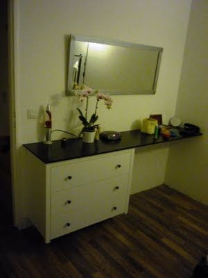 Vanity Desk Dresser Combo Ikea Hack Master Bedroom Ideas