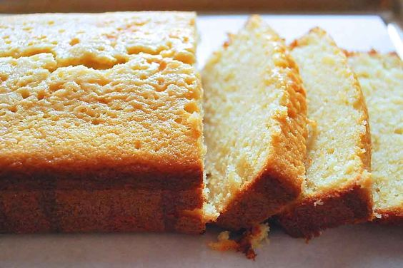 Lemon-Glazed Pound Cake Recipe