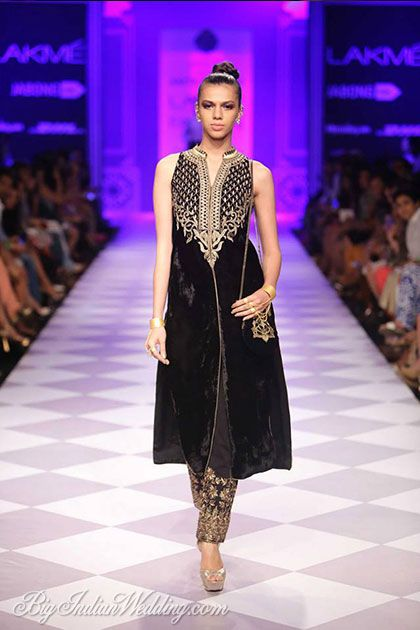 Anita Dongre kurta with embroidered pants