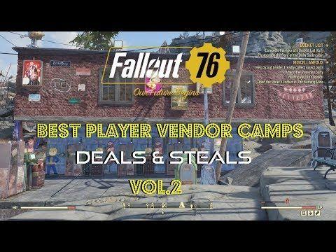 Fallout 76 Best Player Vendor Camps Deals Steals Vol 2