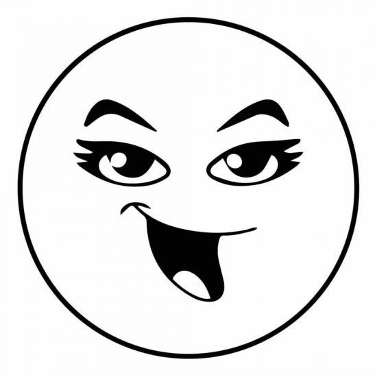 Dibujos De Emoticonos Para Colorear Emojis Dibujos Imprimir Sobres