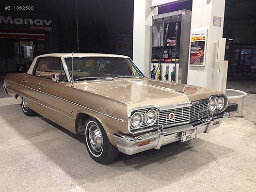 Sahibinden Satilik 1964 Model 54454 Km Chevrolet Impala 460 000 Tl