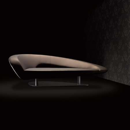 Roche Bobois Speed Up 3 seat chaise lounge