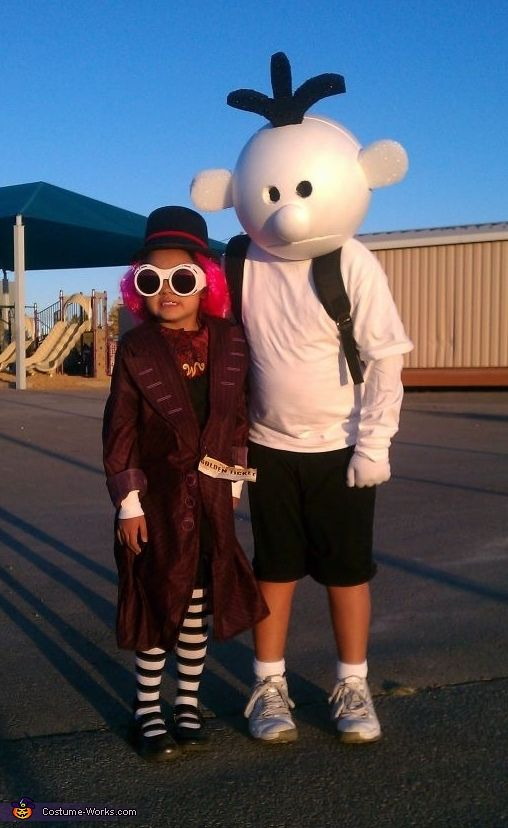 Diary of a Wimpy Kid - Homemade Halloween Costume