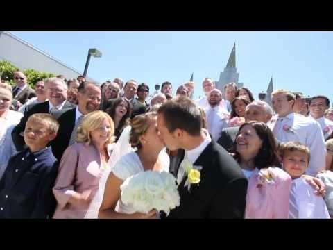 Jeff & Lauren Oakland LDS Temple Wedding