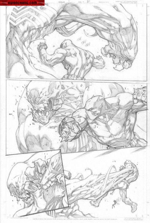Comics Comics Page Joe Madureira Comic Drawing Comics Artwork