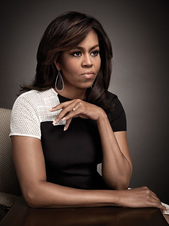 michelle-obama-portrait-art-streiber-variety: