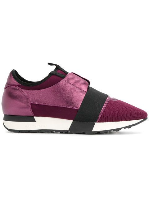 new appearance the best attitude online for sale Shop Balenciaga Purple Race Runners in 2019 | Purple ...