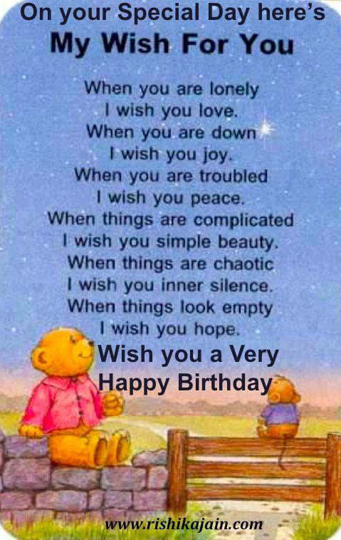Inspirational Birthday Wisheshappybirthdaywishesonline – Special Greeting for Birthday