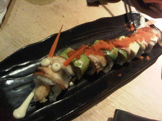 sushi tei dragon roll