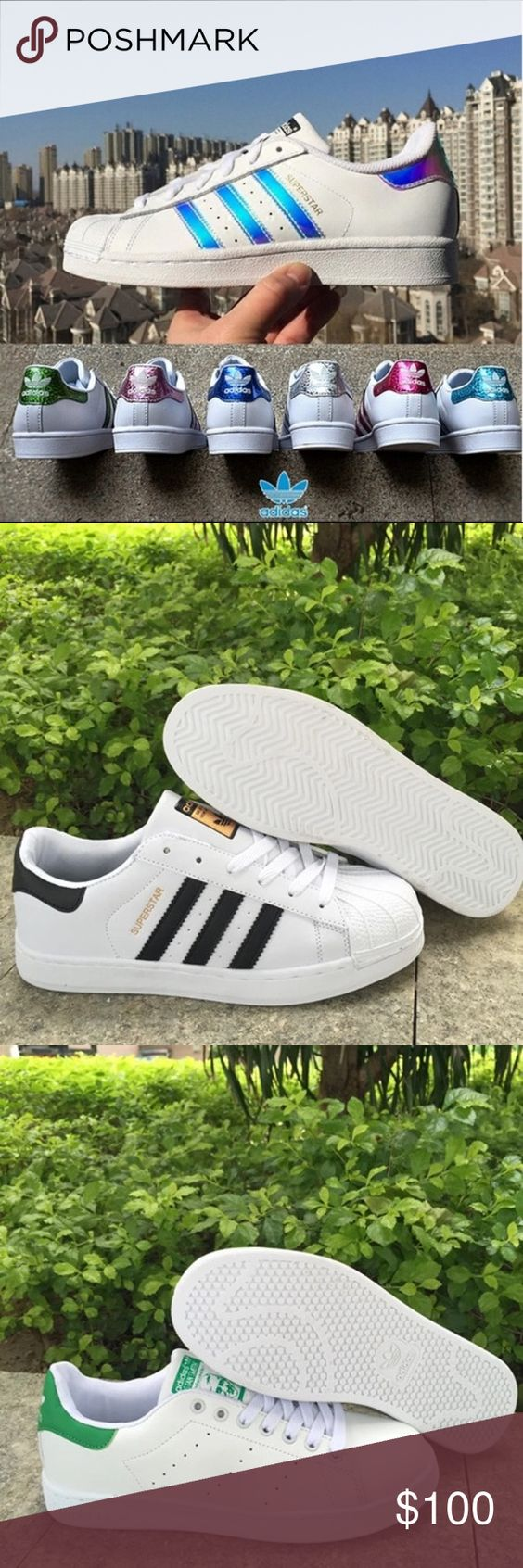 Adidas Superstar I have all sizes and all types available. Price is ALWAYS negotiable Adidas Shoes Athletic Shoes