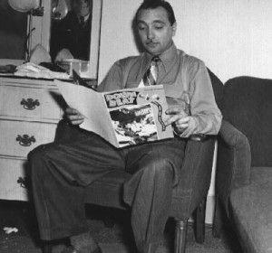 Reading a comic