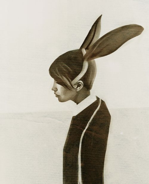 thebonesaccordingto:    rabbit by ruben ireland
