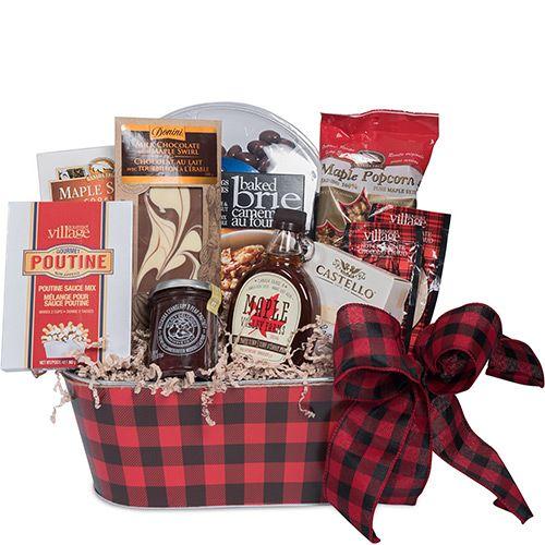 True North Gourmet Basket Gourmet Baskets Themed Gift Baskets