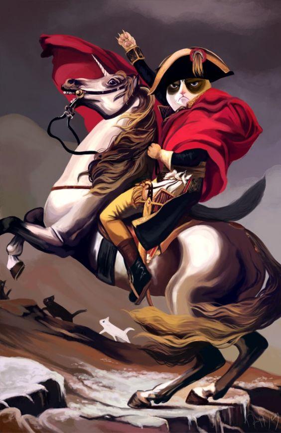 Hey @Edith Garcia en que personaje histórico se basaron? Ya viste que es el gato enojon ¿?
