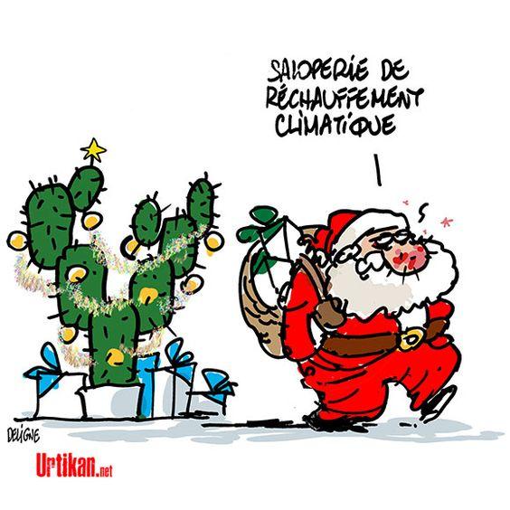 Bebe Chambre Trop Chaude : 2015 : Un Noël très chaud ! – Dessin du jour – Urtikan.net