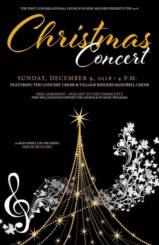 Christmas Concert Christmas Poster Design Christmas Concert Ideas