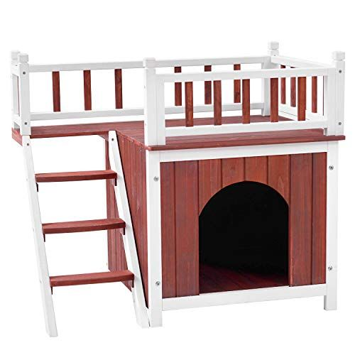 Heated Dog House For Outside Aivituvin Wooden Dog Cat House Outdoor And Indoor Feral Pet Houses For Cats Insula Outdoor Cat House Cat Condo Cat Houses Indoor