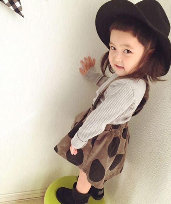 看完都想生女兒了!日本時尚小娃爆萌穿搭融化你的心 - 自由電子報iStyle時尚美妝頻道