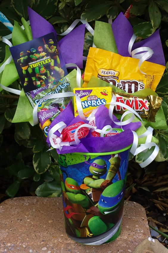 Teenage Mutant Ninja Turtles Kids Candy by LynnsCandyCreations: