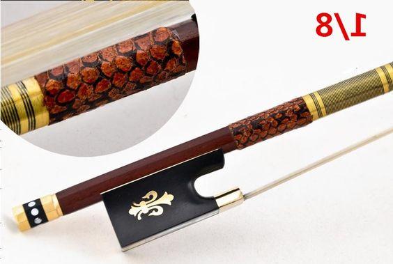 34.00$  Watch now - https://alitems.com/g/1e8d114494b01f4c715516525dc3e8/?i=5&ulp=https%3A%2F%2Fwww.aliexpress.com%2Fitem%2FHigh-quality-violin-bow-size-1-8-violino-brazilwood-wood-Bow-Horse-hair-violin-accessory-bow%2F32375082158.html - High quality violin bow size 1/8 violino brazilwood wood Bow  Horse hair violin accessory bow accessories para violino