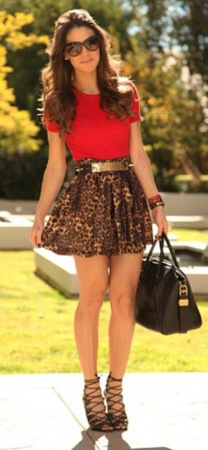 Leopard and red.. my favorite