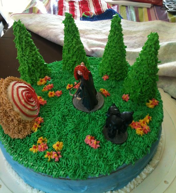 Brave-Princess Merida Cake