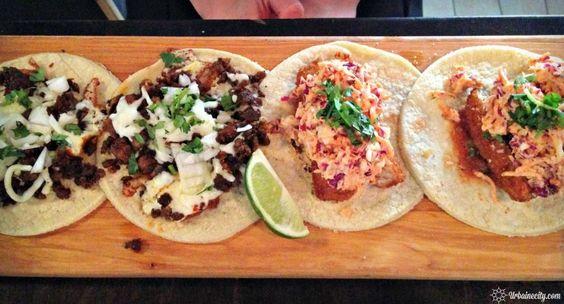 Tacos & Tortas, tacos au chorizo et au poisson
