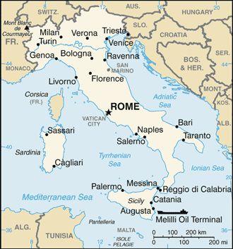 Italië - alles over Italië