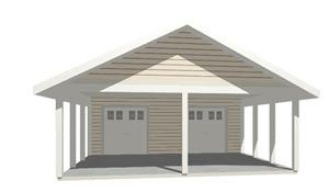 Cars boats and sheds on pinterest for Boat storage shed plans