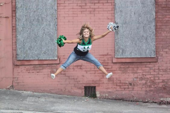 Senior girl, cheerleading pic idea!