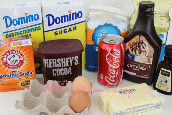 Copycat Cracker Barrel Double Fudge Coca-Cola Cake Recipe