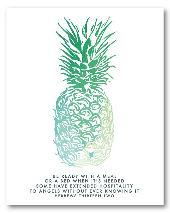 Pretty print for a guest room someday... Hebrews 13:2