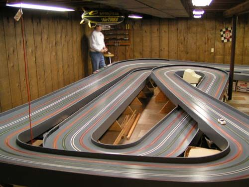 Image Result For Wood Routed Slot Car Track Photos Slot Cars Slot Car Tracks Slot Racing